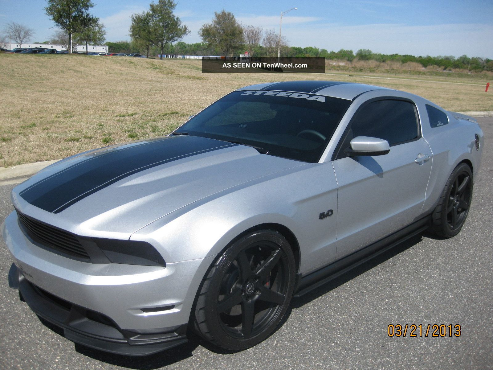 2011 steeda ford mustang gt premium 6sp silver 15000 invested