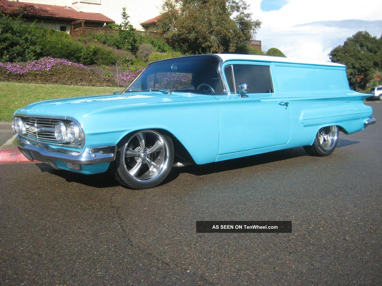 1960 Chevy Sedan Delivery Street Rod Mild Custom Rare