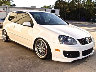 2009 Volkswagen Gti 2.  0l Turbo Dsg F1 Paddle Shifting Lower No Jetta photo