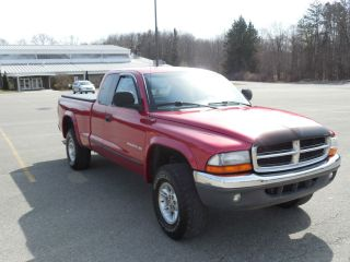1997 Dodge Dakota Slt Extended Cab Pickup 4x4 4 Wheel Drive Truck V8 photo