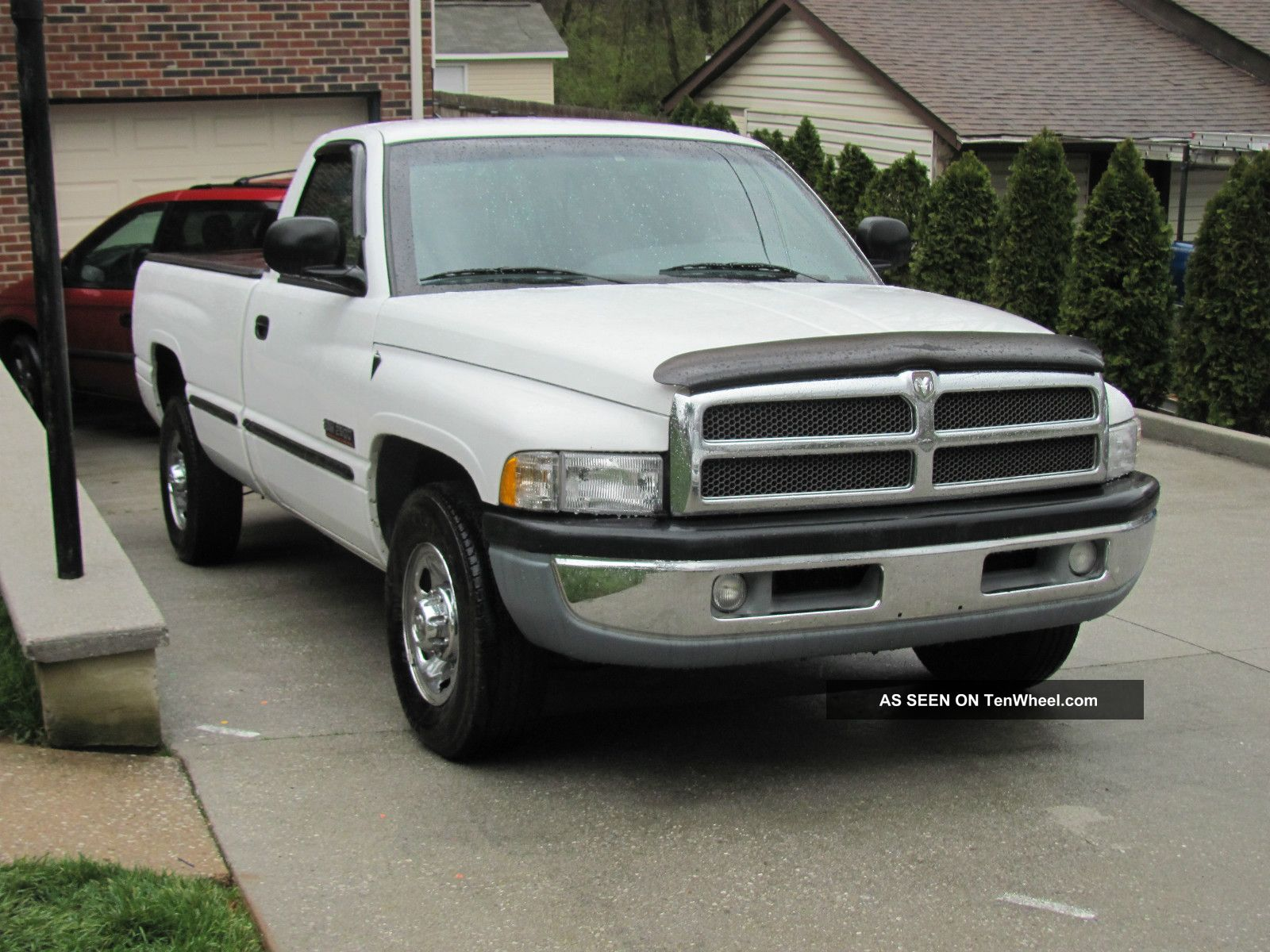 1998 dodge ram 2500 diesel laramie long bed 4x2 pickup. Black Bedroom Furniture Sets. Home Design Ideas