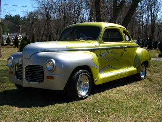 1946 Plymouth 2 Dr Sedan Hot Rod Project Driver Chevy V8 Auto Titled 47 48 49 50 photo