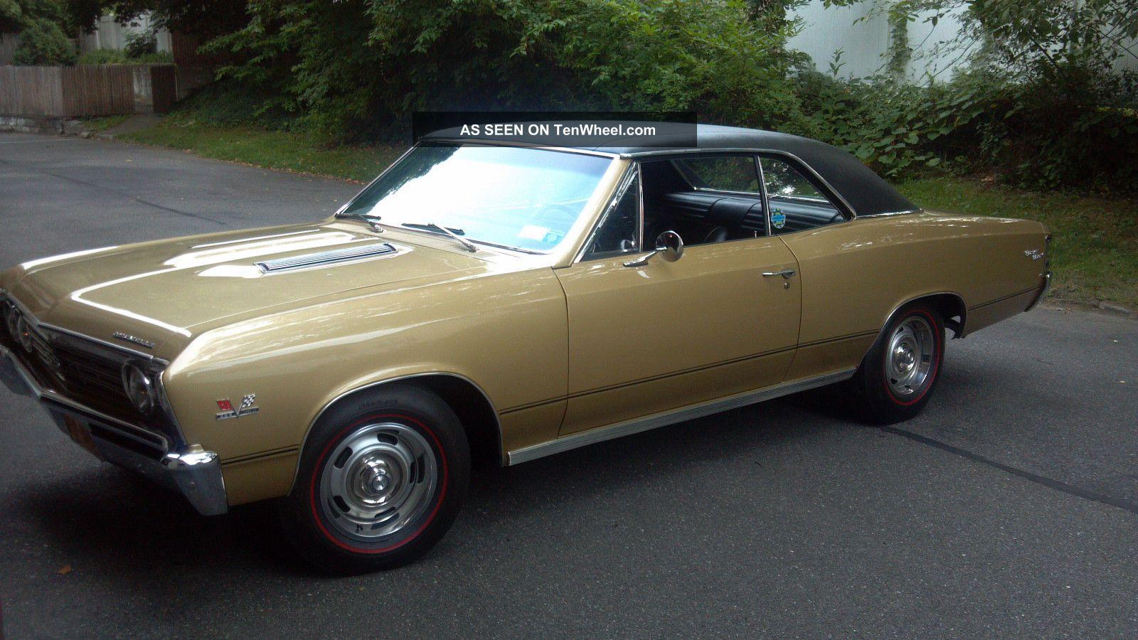 1967 chevrolet chevelle ss 396 2 door hardtop front 3 4 44313 - 1967 Chevrolet Chevelle Ss 396 2 Door Coupe Side Pro 139107 1000x667 1967