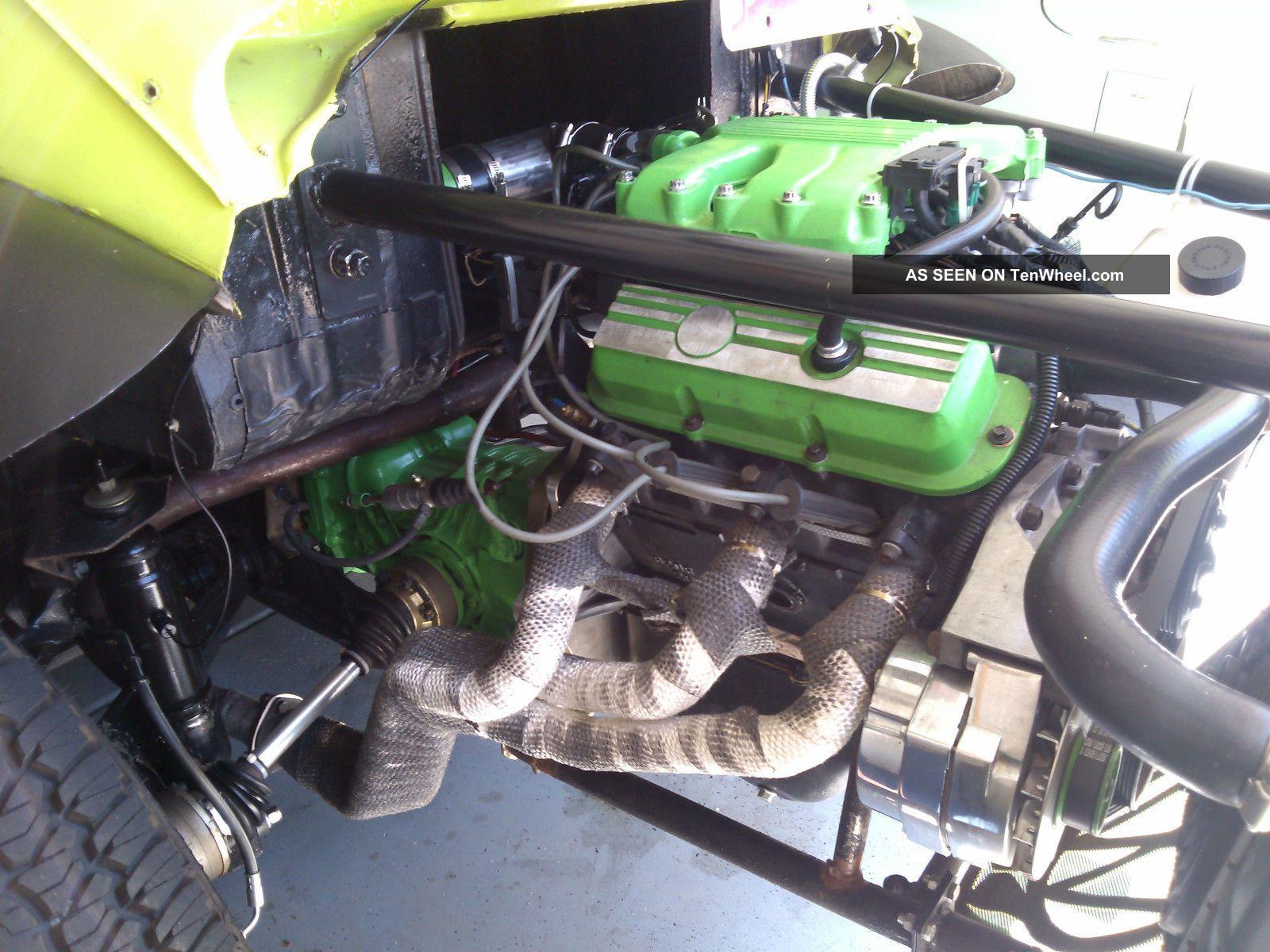 volkswagen vw custom baja beetle  fuel inj pontiac fiero
