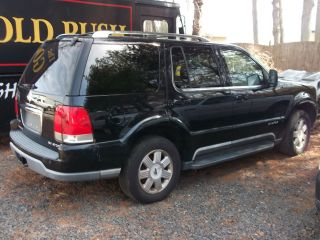 2004 Lincoln Aviator Base Sport Utility 4 - Door 4.  6l - - Water Damage photo