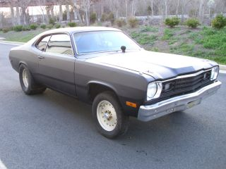 1973 Plymouth Duster 400 451 Mopar Stroker Drag 73 Pro Street Death Proof Style photo