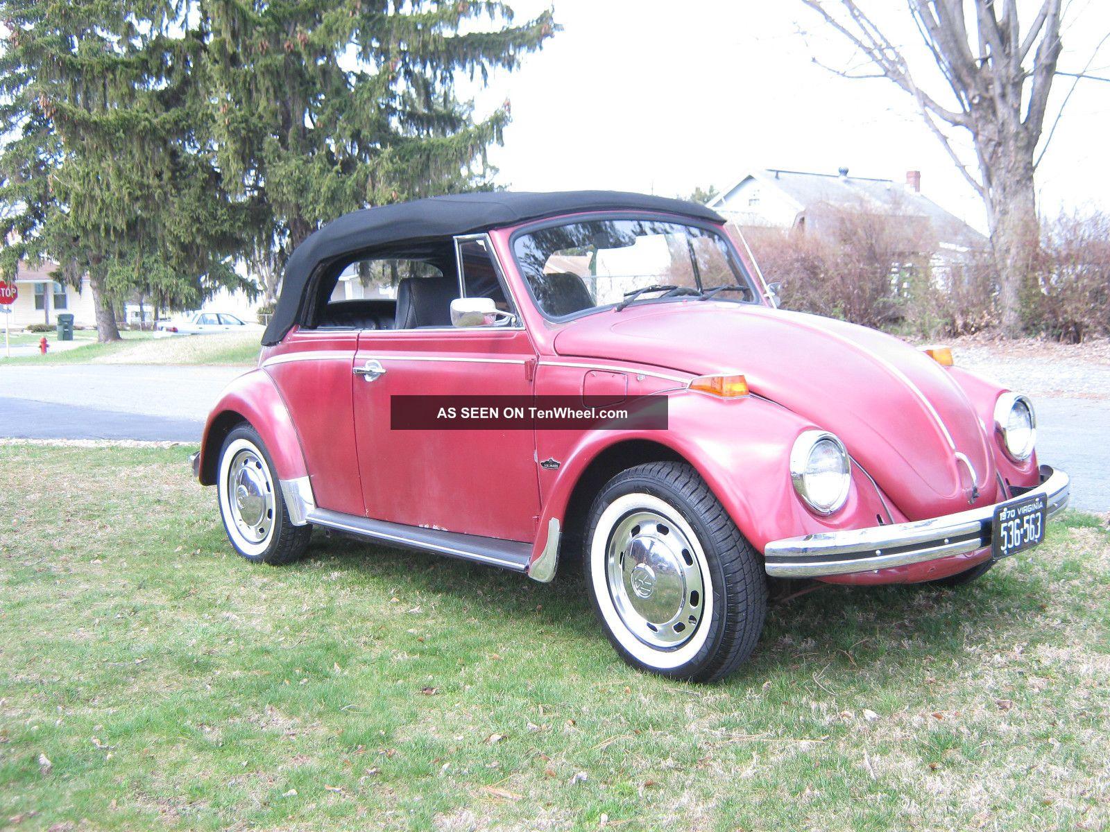 1970 volkswagen beetle convertible. Black Bedroom Furniture Sets. Home Design Ideas