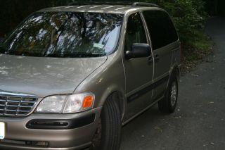 2000 Chevrolet Venture Mini Van 4 - Door 3.  4l Needs Engine Work photo