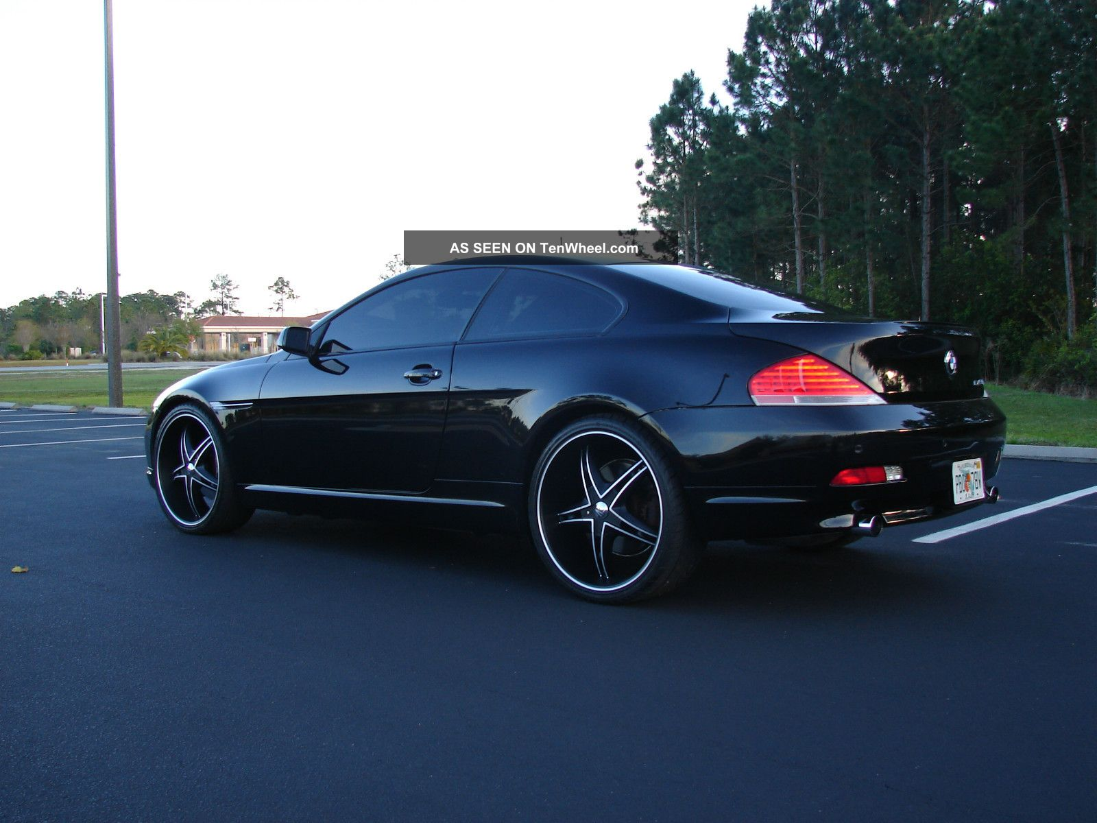 2004 bmw 645ci sport package pano roof 22 wheeels and tires. Black Bedroom Furniture Sets. Home Design Ideas