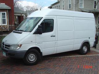 2006 Dodge Sprinter 2500 Base Standard Cargo Van 4 - Door 2.  7l photo