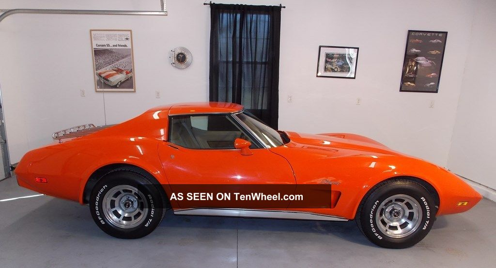 Corvette Stingray S Match Orange Flame Interior Beatiful Shine Lgw