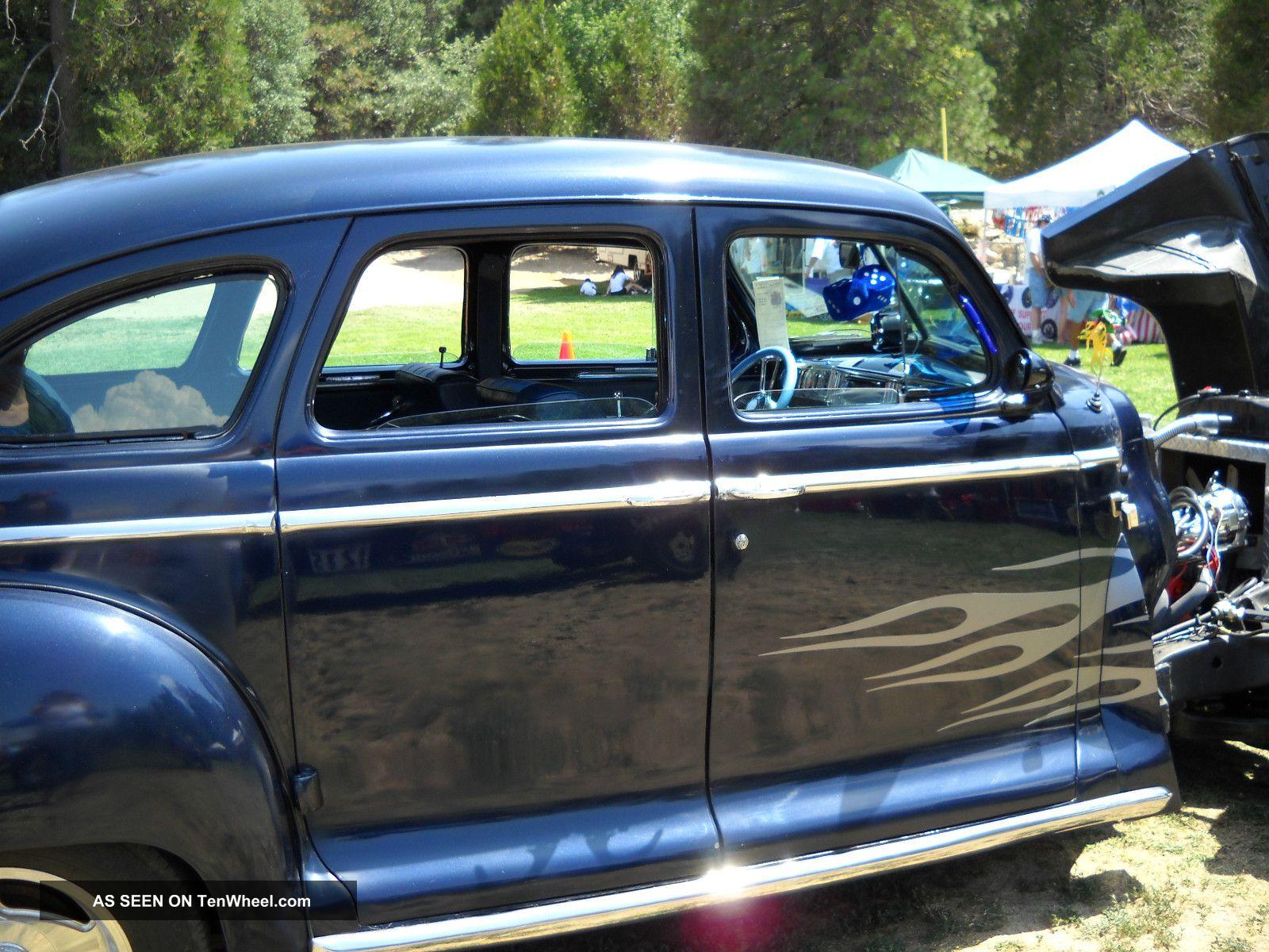1947 plymouth deluxe 4 door sedan for 1947 dodge 2 door sedan