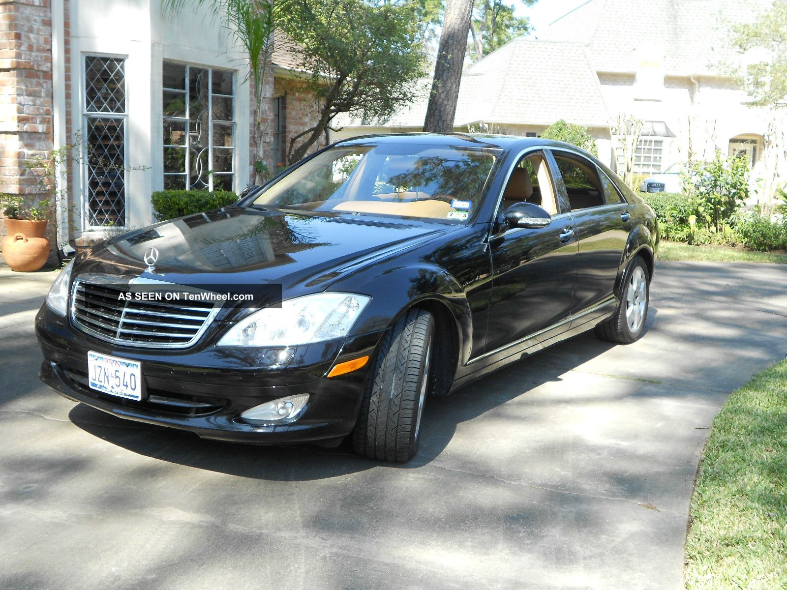 2007 mercedes benz s550 black on tan imaculate for Mercedes benz s550 2007