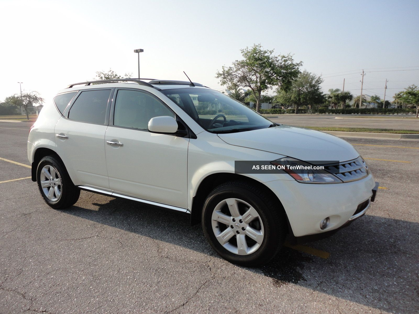 2007 Nissan Murano Sl Awd Rear Camera Fully Loaded Great Immaculate Murano photo