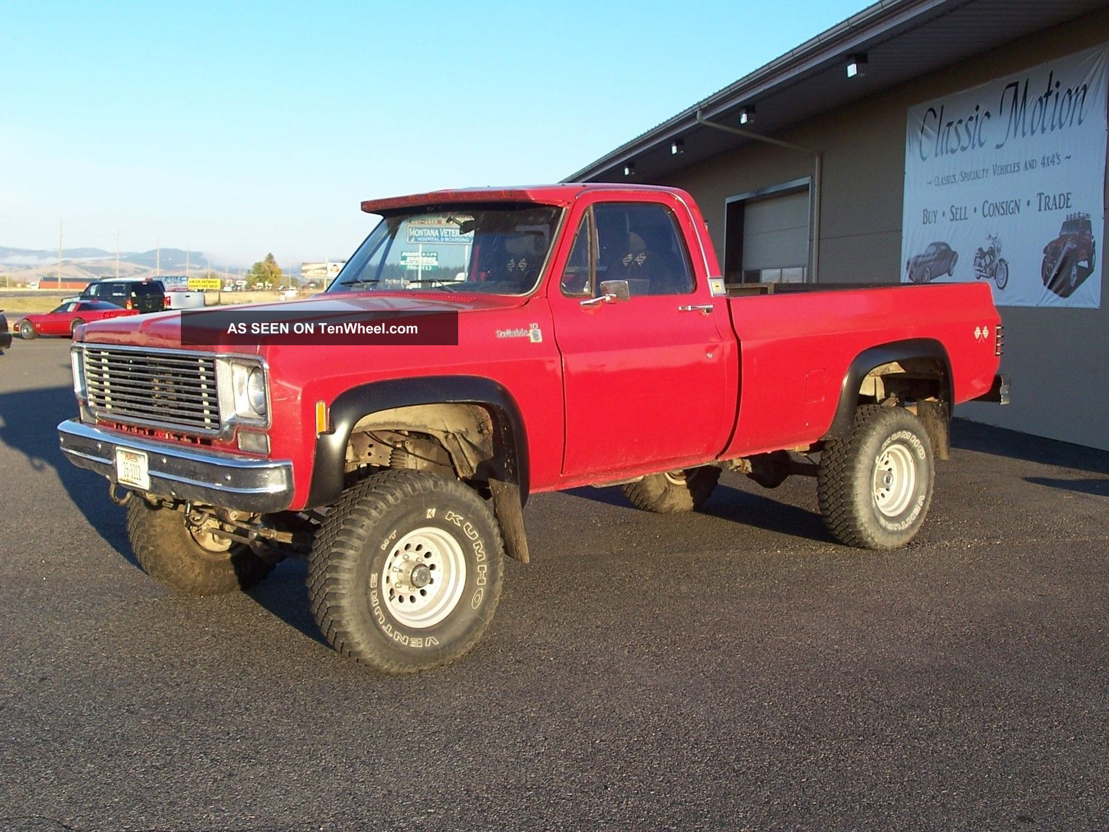 1977 Chevy K10 4x4 C/K Pickup 1500 photo