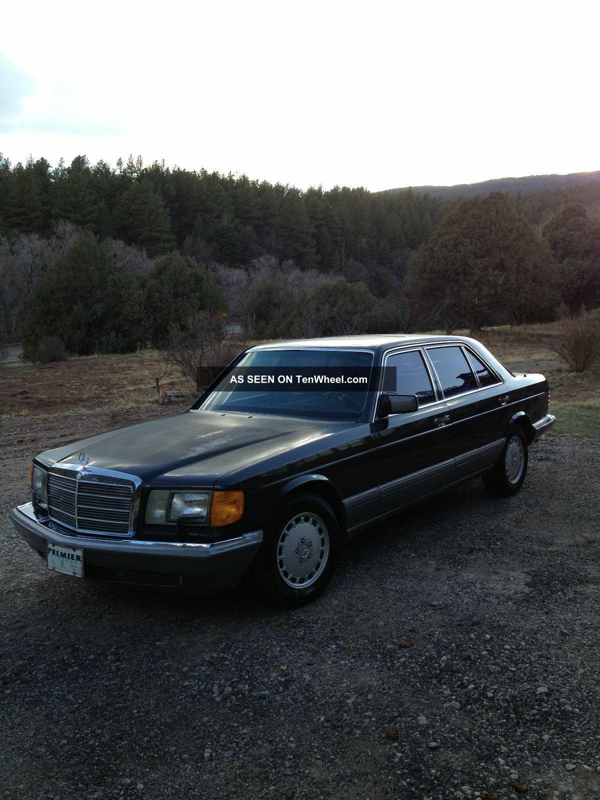 1987 Mercedes - Benz 560sel Base Sedan 4 - Door 5.  6l 500-Series photo