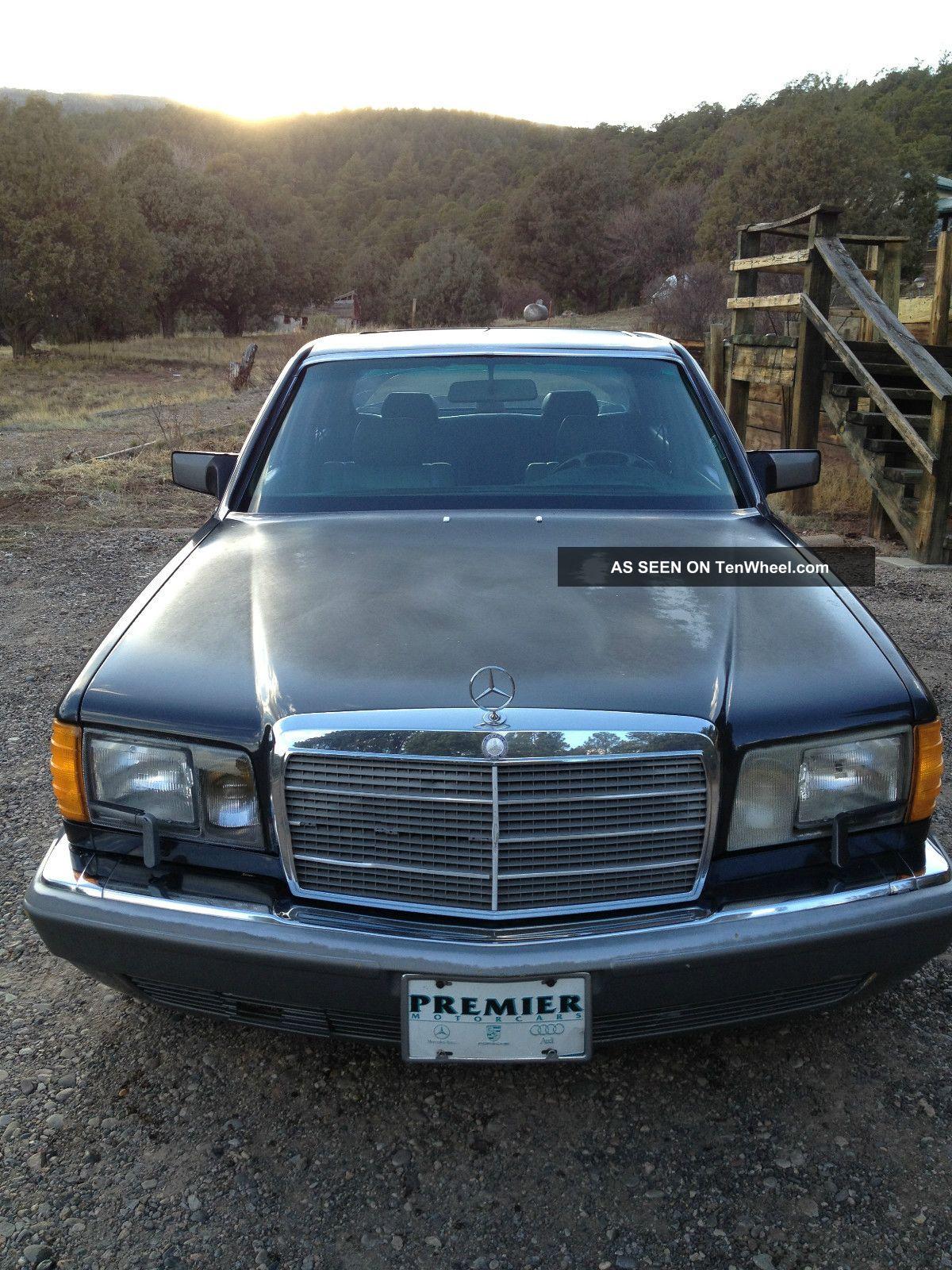 1987 mercedes benz 560sel base sedan 4 door 5 6l for Mercedes benz 560sel