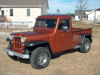 1951 Willys Pickup photo
