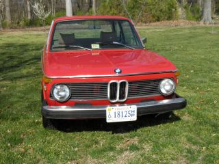 1975 Bmw 2002 Red Base Coupe 2 - Door 2.  0l - photo