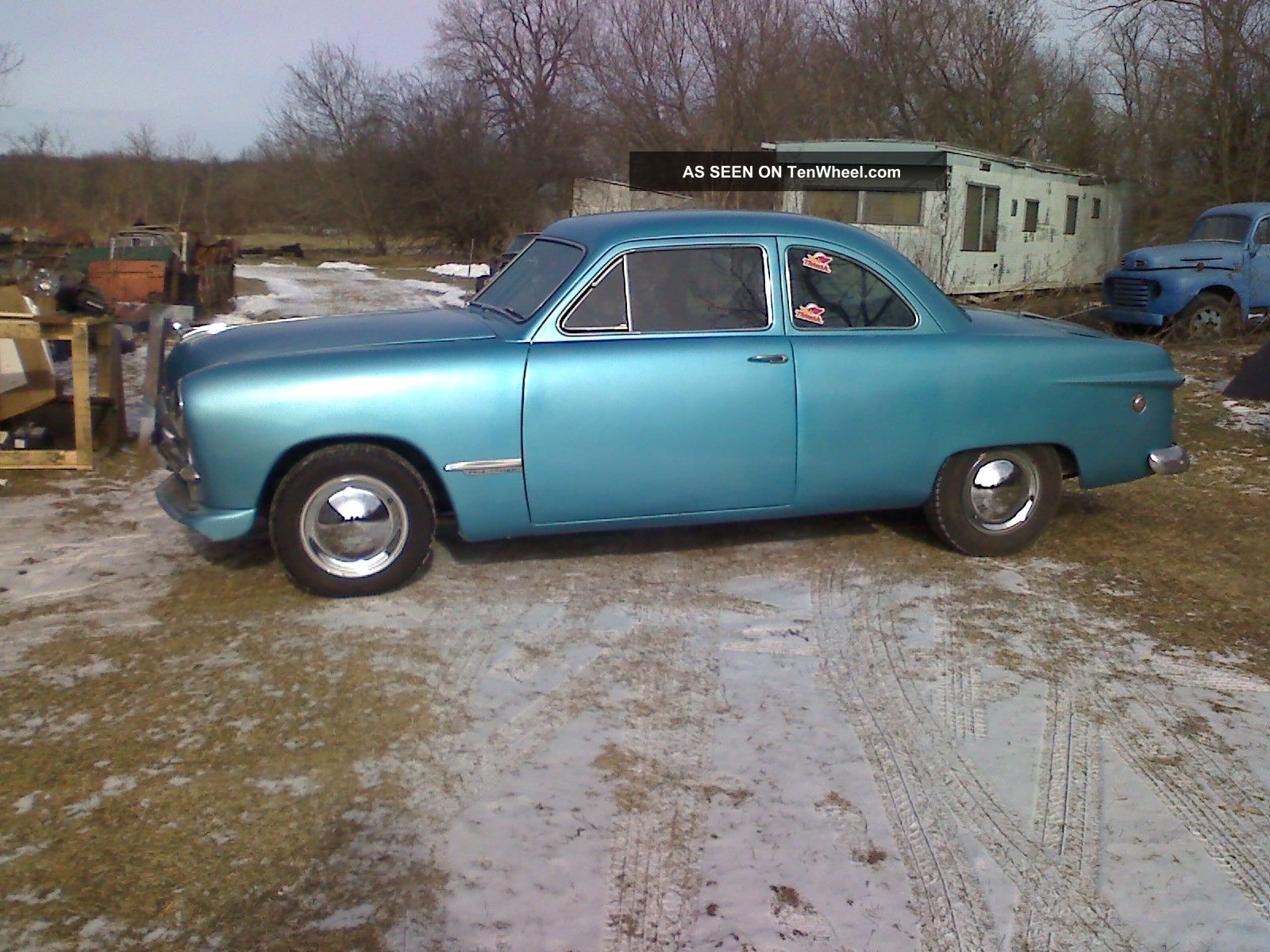 1949 Ford 2door Business Coupe Modified 2 Door Hardtop