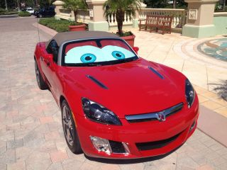 2009 Saturn Sky Red Line Convertible 2 - Door 2.  0l photo