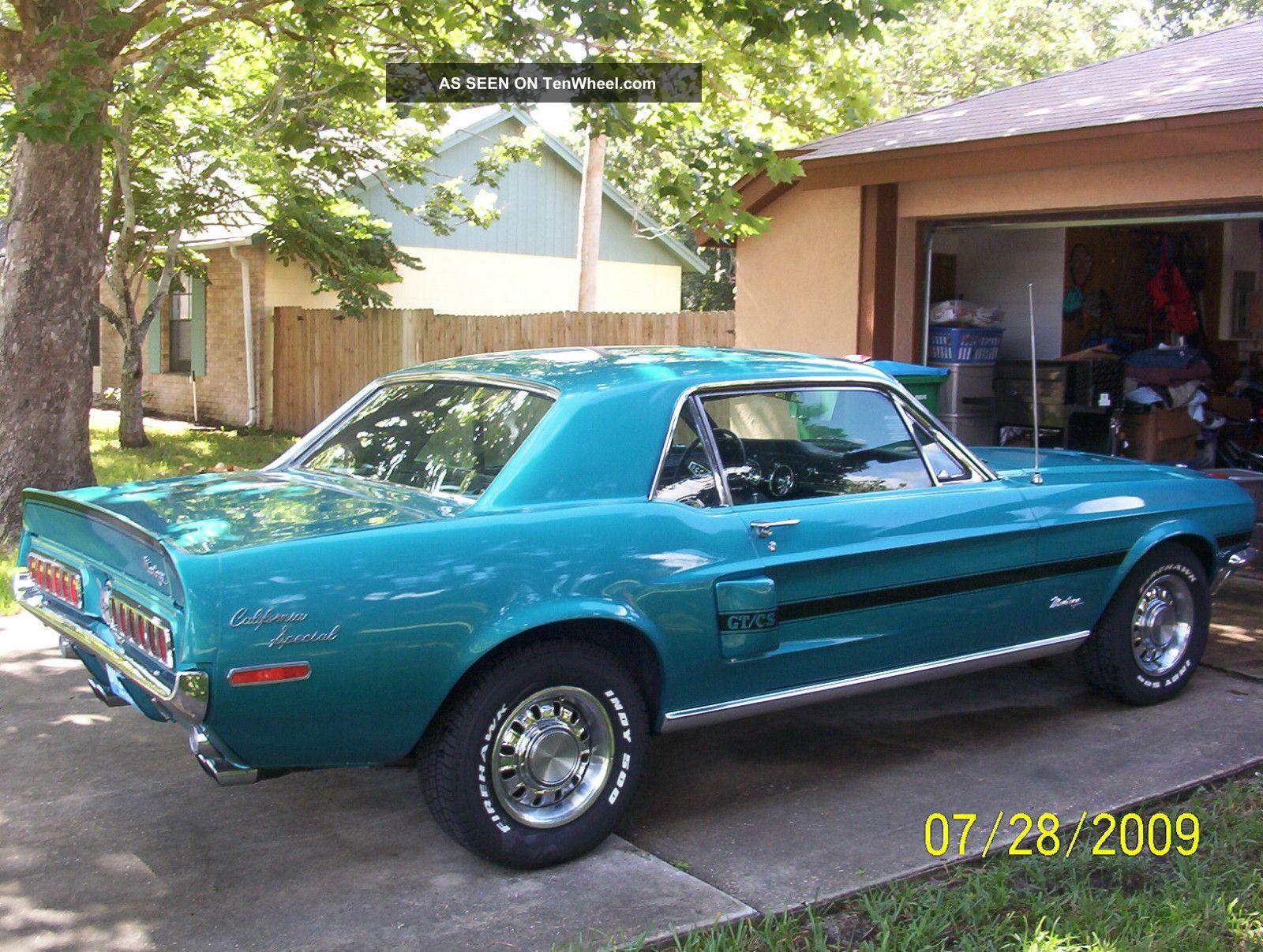 1968 California Special Mustang