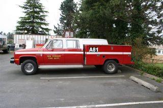1986 Chevrolet C30 Pickup 1 Ton Fleetside Crew Cab photo