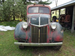 1940 1 1 / 2 Ton Ford Flathead Truck photo