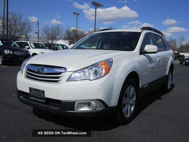 2011 Subaru Outback 2.  5i Premium Wagon Pzev All - Wheel Drive Outback photo