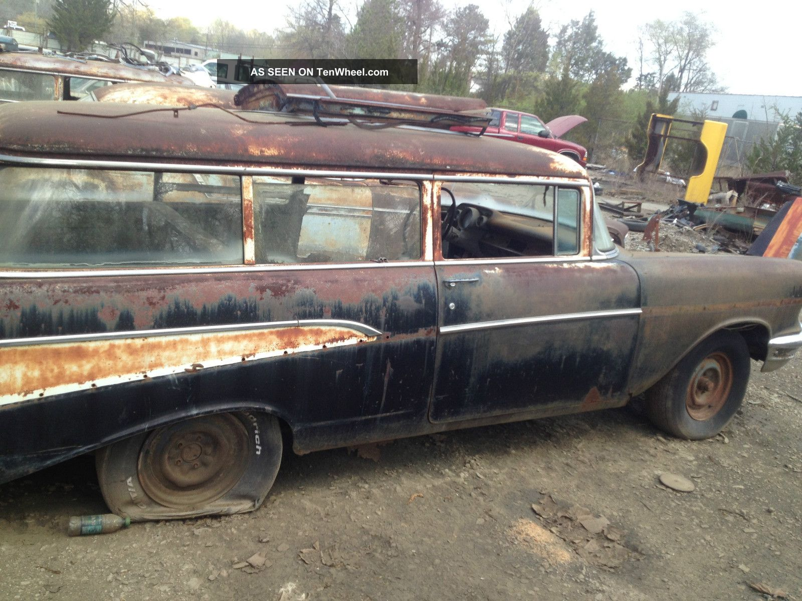 1957 chevrolet 2 door wagon handyman like nomad project for 1957 chevy 4 door wagon for sale