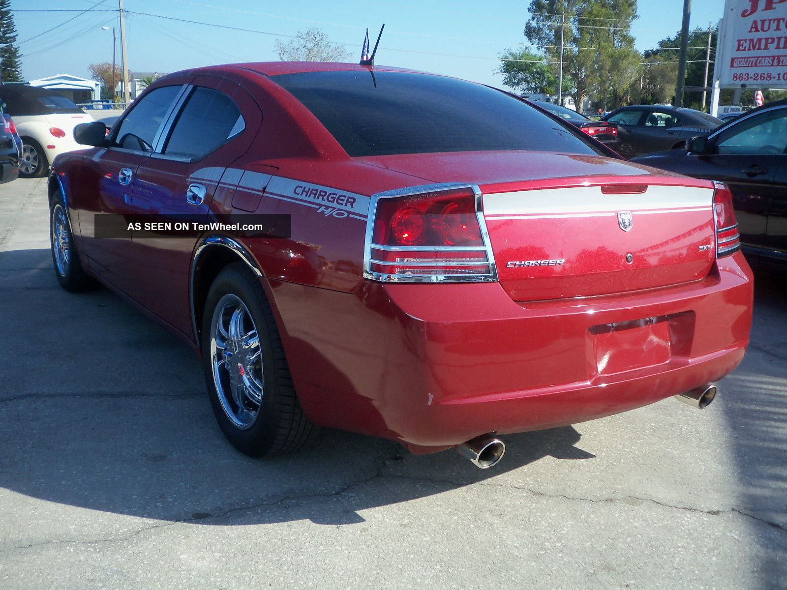2008 dodge charger sxt sedan 4 door 3 5l. Black Bedroom Furniture Sets. Home Design Ideas