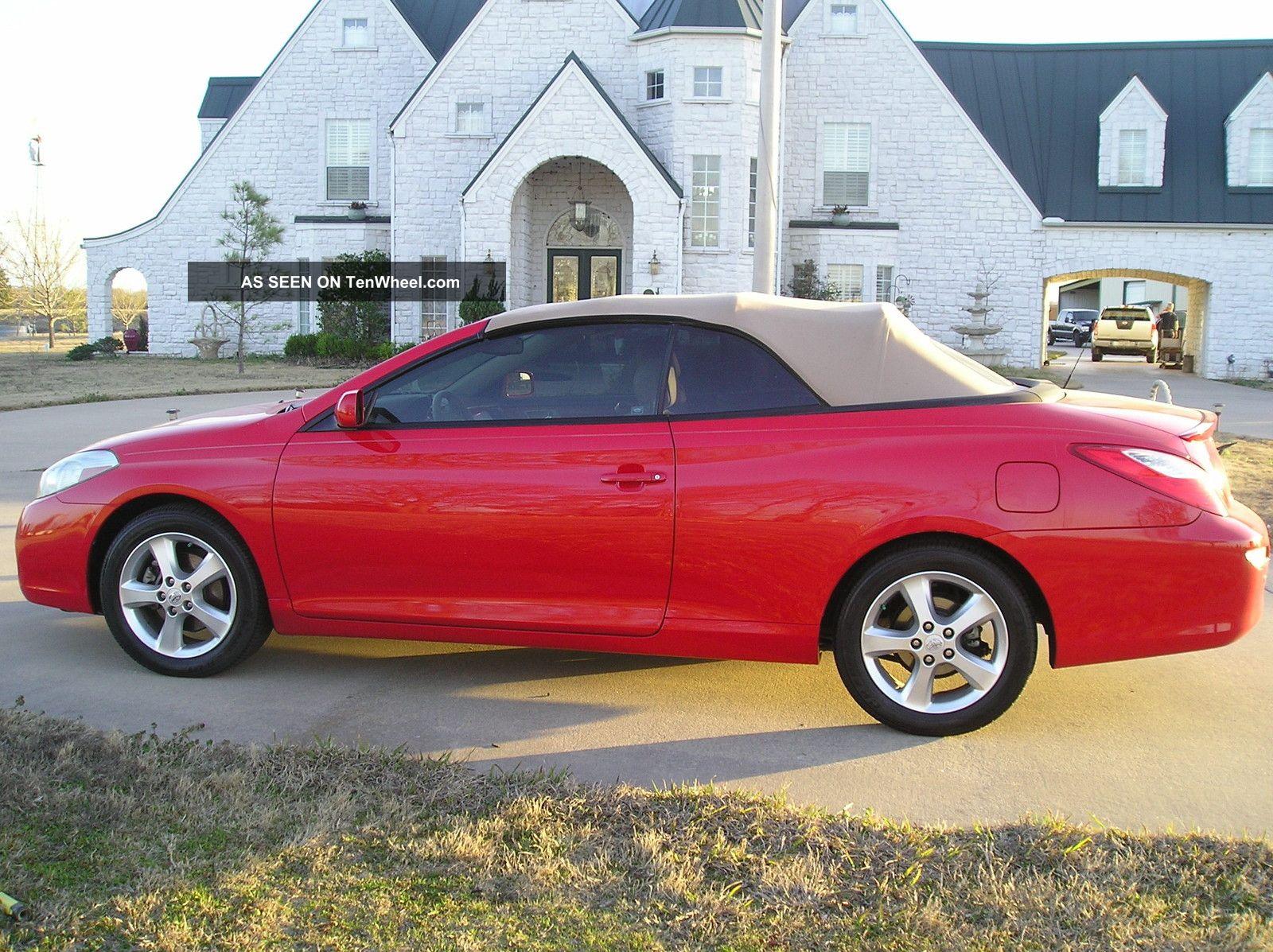 2008 Toyota Solara Sle Convertible 2 - Door 3.  3l Solara photo