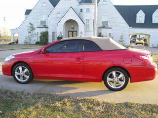2008 Toyota Solara Sle Convertible 2 - Door 3.  3l photo