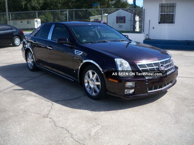 2008 cadillac sts base sedan 4 door 3 6l. Black Bedroom Furniture Sets. Home Design Ideas