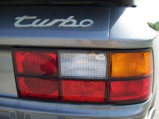 1987 Porsche 944 Turbo photo