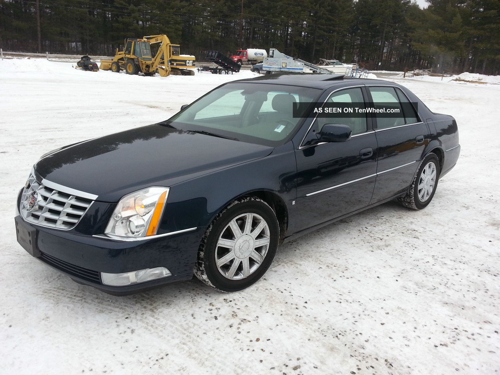 2006 Cadillac Dts Massaging Seats