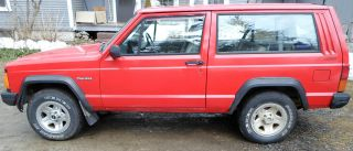 1994 Factory Right Hand Drive Cherokee Postal Jeep photo