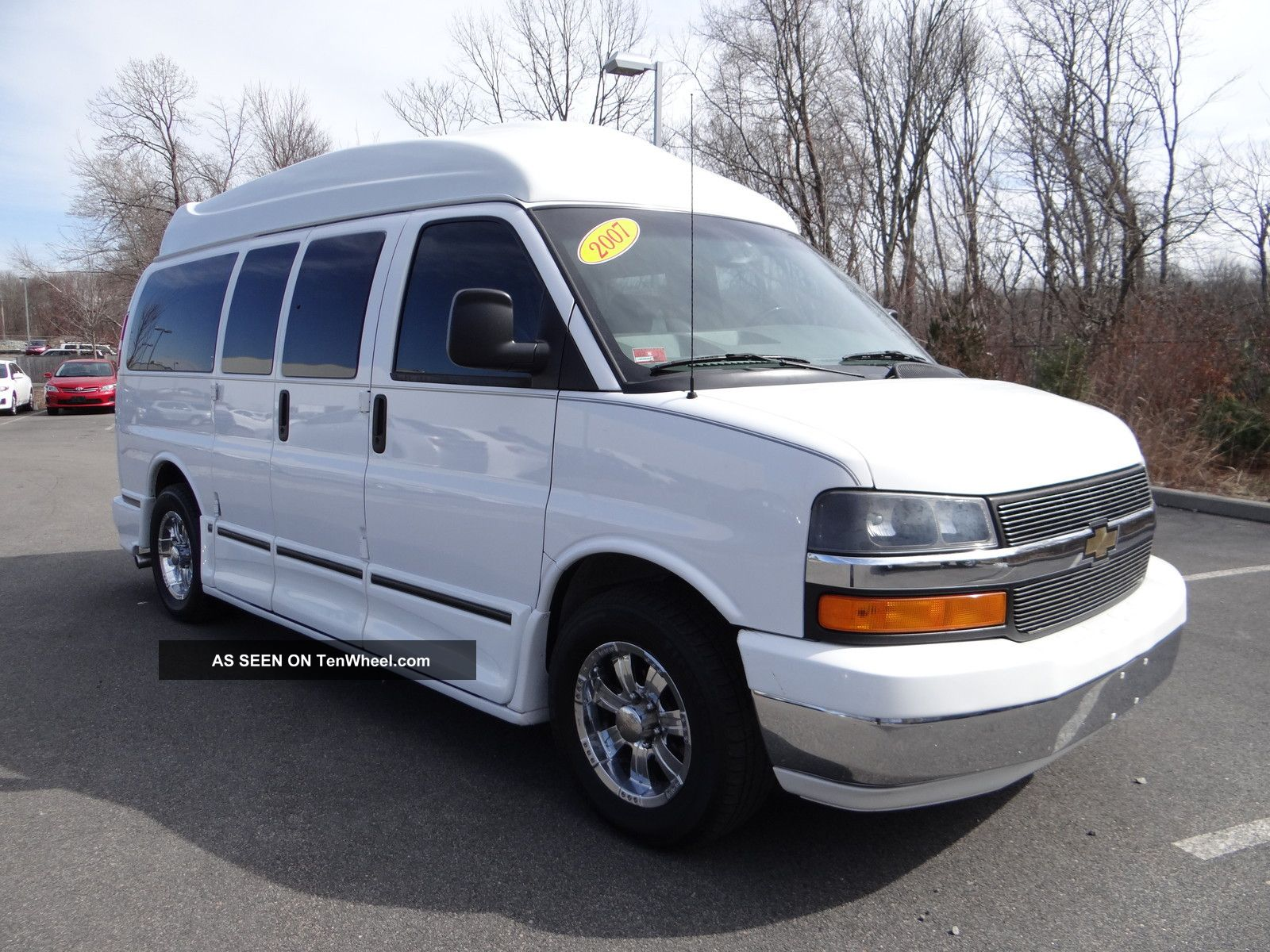 2007 chevrolet express conversion van yf7 upfitter. Black Bedroom Furniture Sets. Home Design Ideas