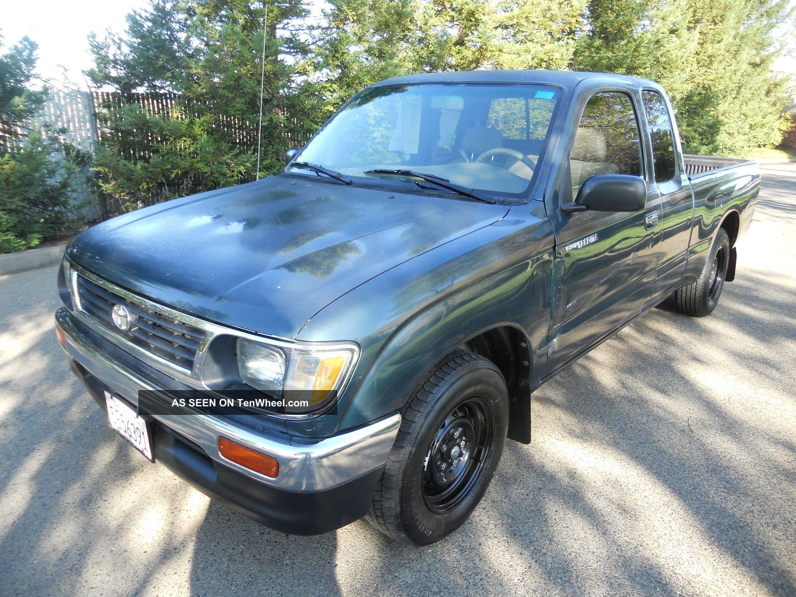 1995 Toyota Tacoma Dlx Extended Cab Pickup 2 - Door 2.  4l Title Tacoma photo