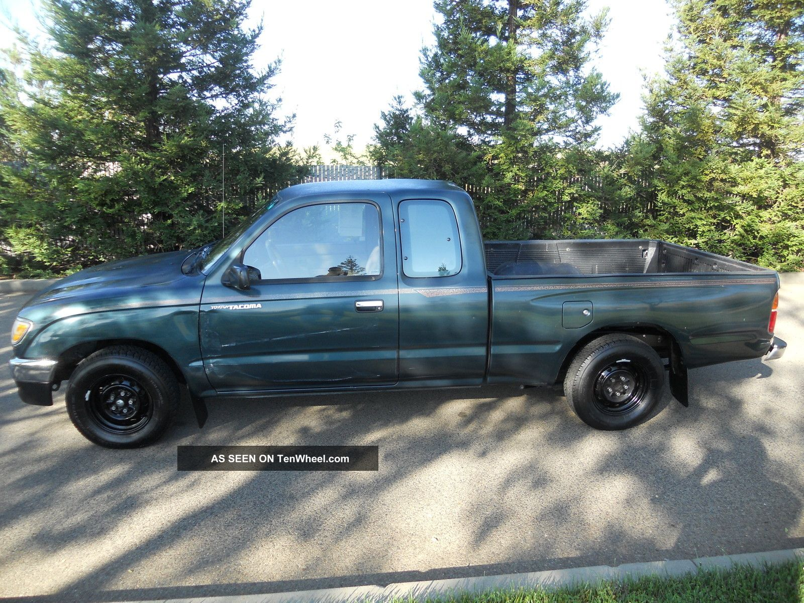 1995 toyota tacoma dlx extended cab pickup 2 door 2 4l title. Black Bedroom Furniture Sets. Home Design Ideas