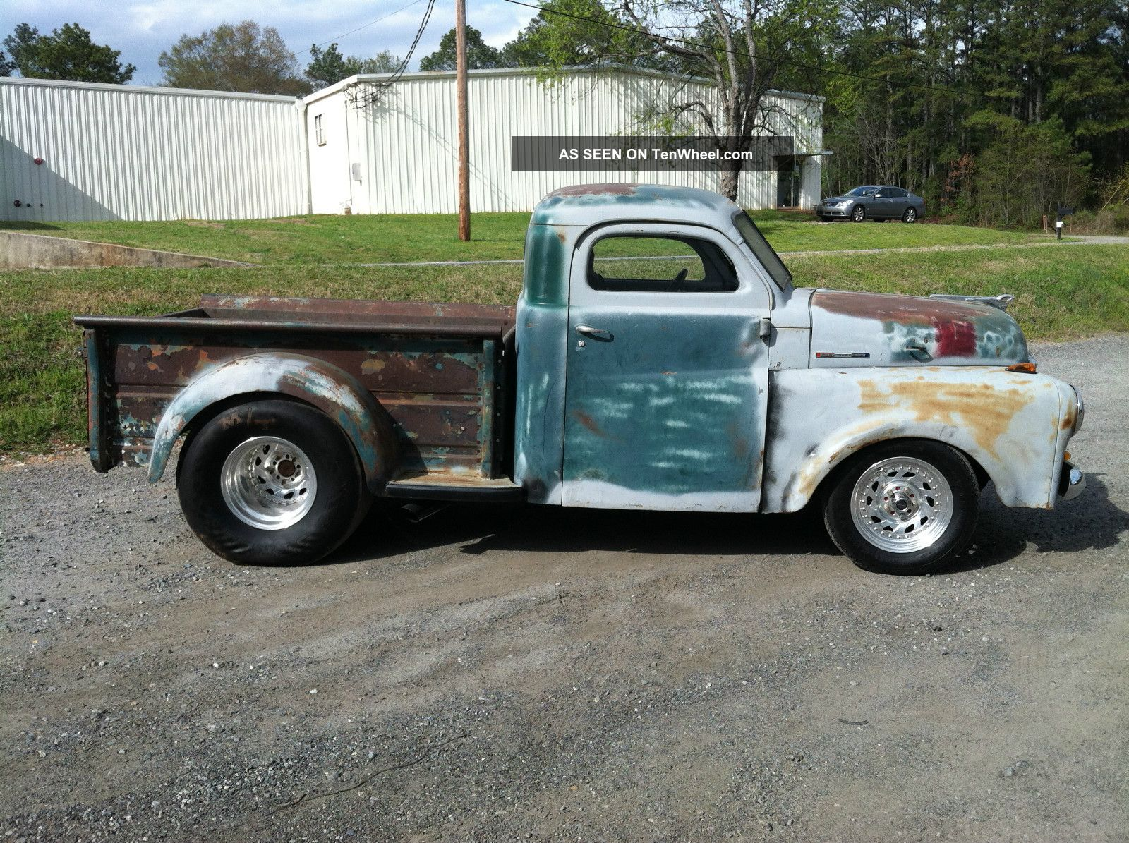 1948 Dodge Pickup Truck Rat Rod 355 Engine Custom Frame Racing Wheels Ford Hot