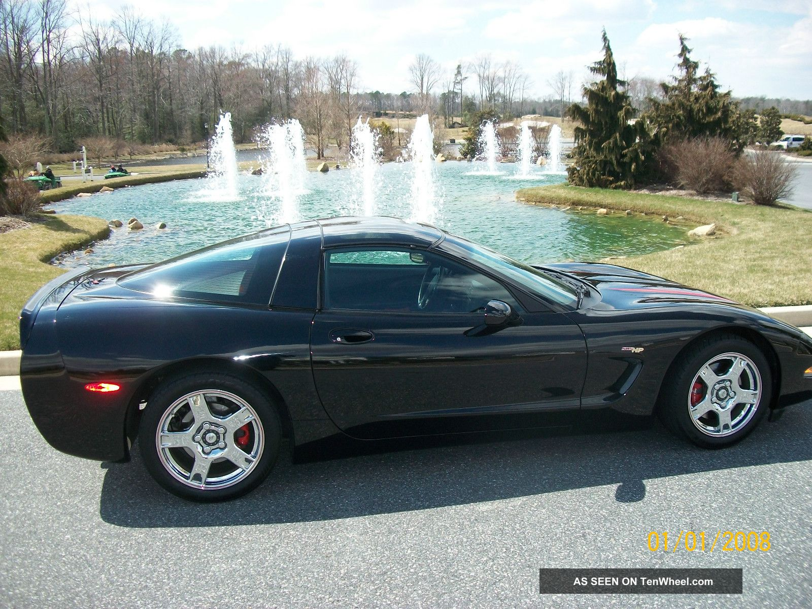 1998 Corvette Black On Black Coupe Corvette photo