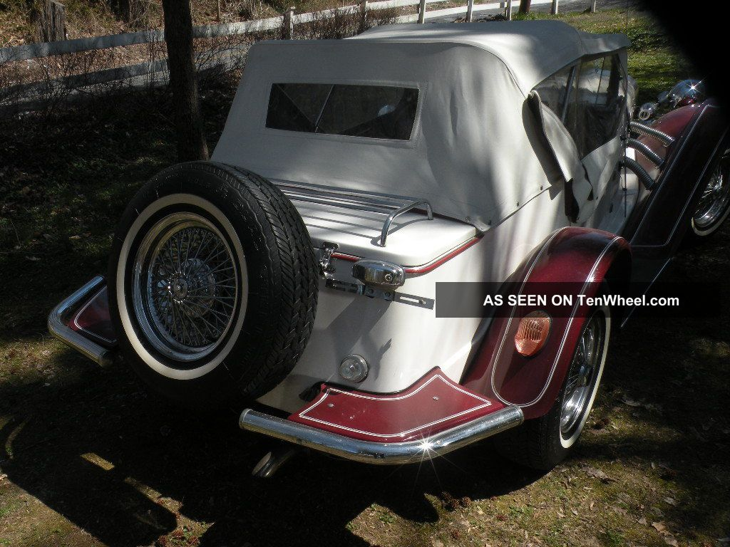 1928 Mercedes Gazelle Replica/Kit Makes photo