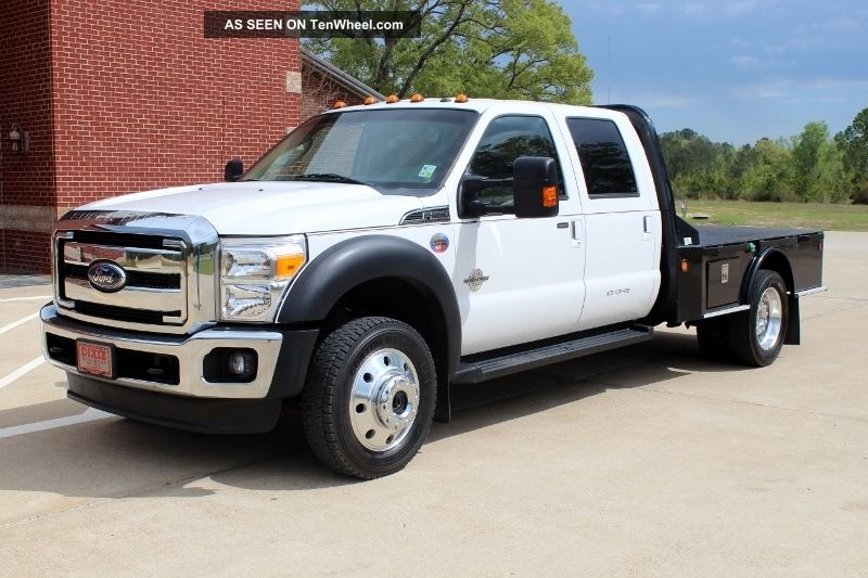 2011 Ford F - 550 Duty Lariat Cab & Chassis 4 - Door 6.  7l Diesel 4x4 F-350 photo