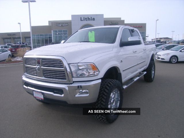 2012 ram 2500 laramie limited with lift kit. Black Bedroom Furniture Sets. Home Design Ideas