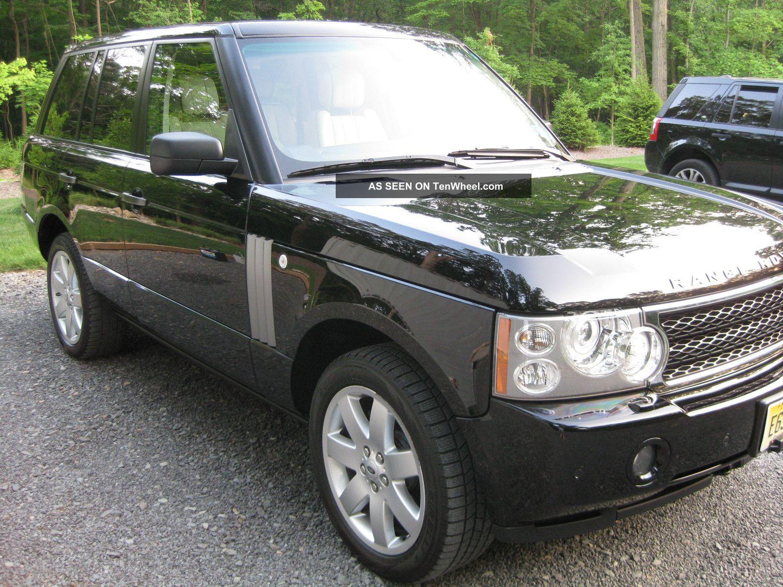 2007 land rover range rover hse sport utility 4 door 4 4l range. Black Bedroom Furniture Sets. Home Design Ideas