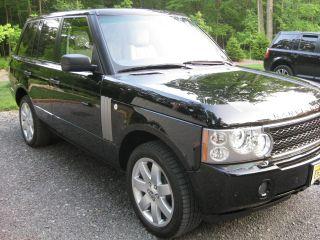 2007 Land Rover Range Rover Hse Sport Utility 4 - Door 4.  4l photo