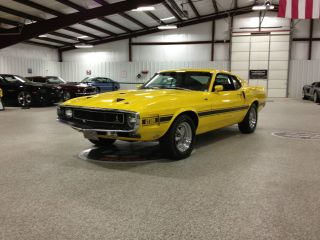 1969 Shelby Gt500 428 Scj Drag Pack 4 Speed Yellow photo