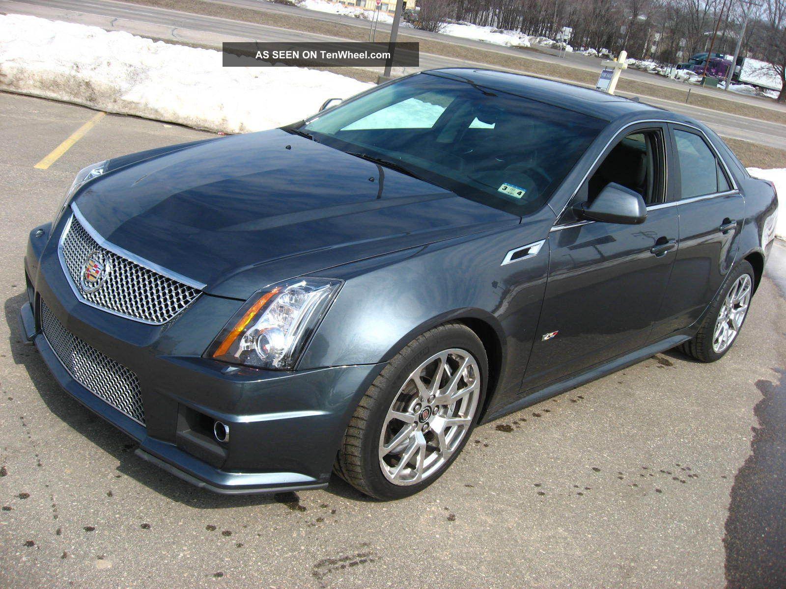 2011 Cadillac Cts V Ctsv Sedan Thunder Gray 556hp 6 2