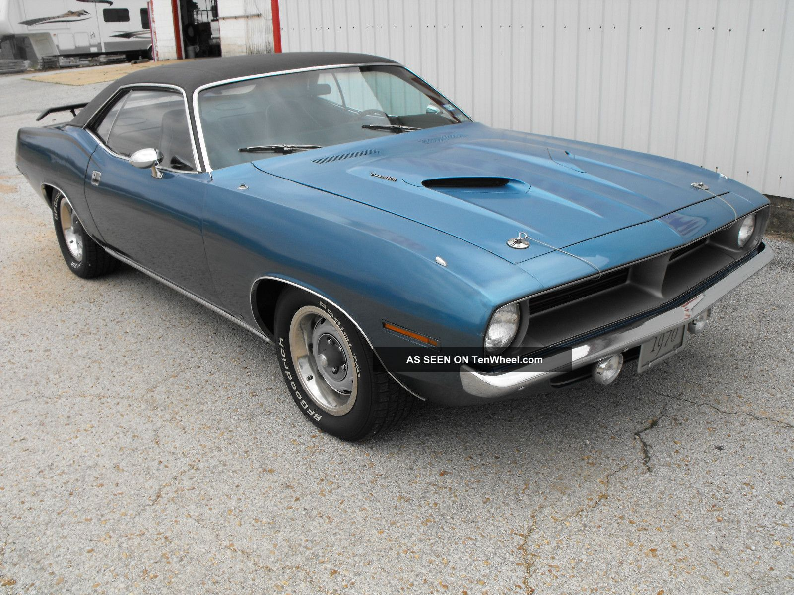 1970 Cuda 340 4 Speed Numbers Matching